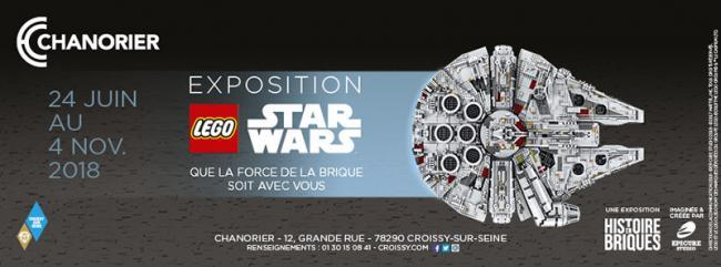Expo Lego Star Wars jusqu'au 4 novembre 2018